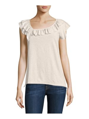 Wilt raw ruffle baby muscle top
