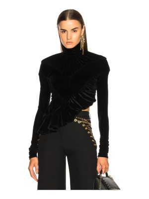 Y Project Ruched Turtleneck Top