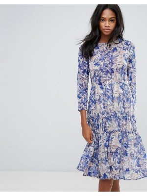 Y.A.S Floral Dress With Ruffle Hem