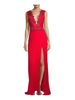 Yigal Azrouel studded lace gown