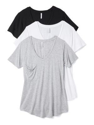 Z Supply sleek jersey pocket tee 3 pack