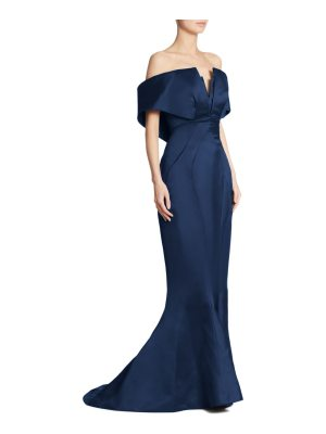 Zac Posen off-the-shoulder gown