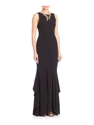 Zac Posen Rivka Embellished Mermaid Gown