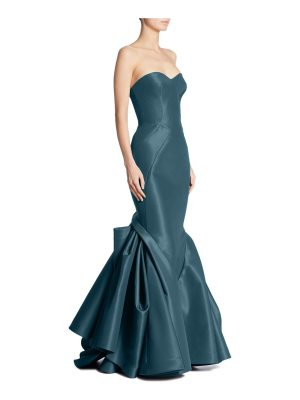 Zac Posen strapless silk gown