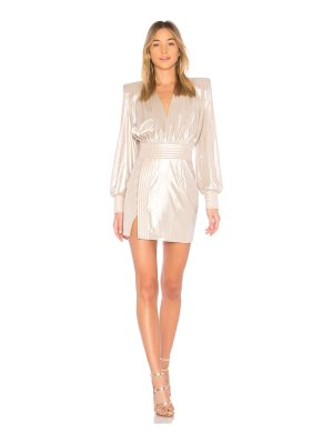 Zhivago Ready Metallic Mini Dress