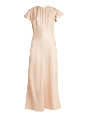 Zimmermann painted heart high-neck dress