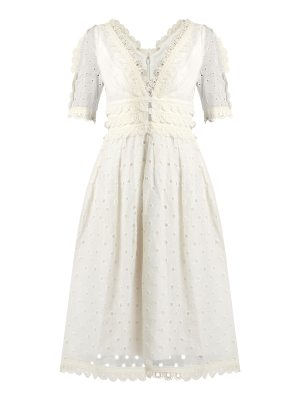 Zimmermann Winsome Tea broderie-anglaise cotton midi dress
